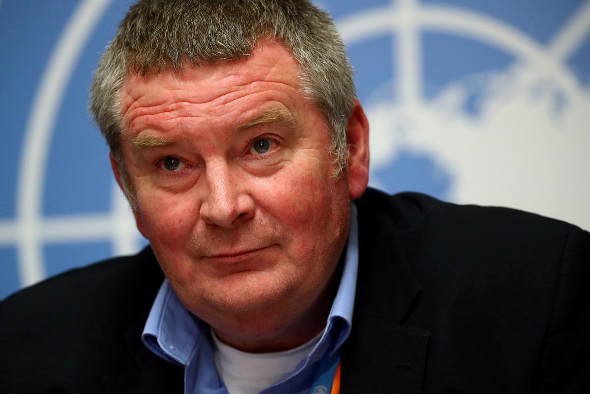 Tiến sĩ Mike Ryan, giám đốc chương trình khẩn cấp về sức khoẻ của WHO. Ảnh: Reuters