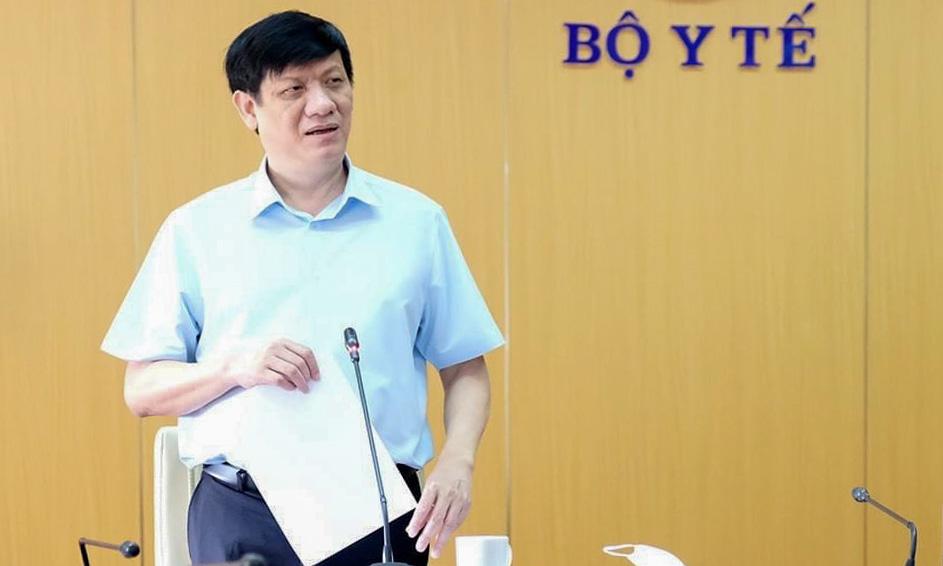 Quyền Bộ trưởng Y tế Nguyễn Thanh Long. Ảnh: Trần Minh.