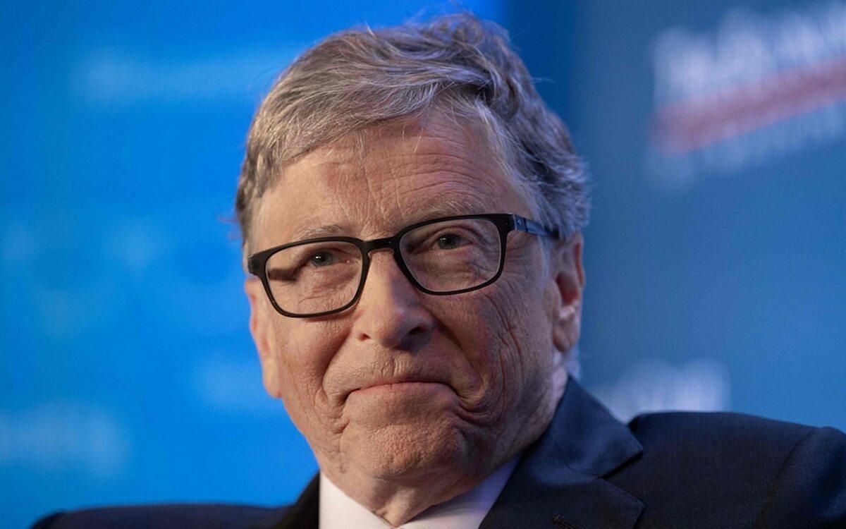 Tỷ phú Bill Gates, người sáng lập Microsoft. Ảnh: AFP