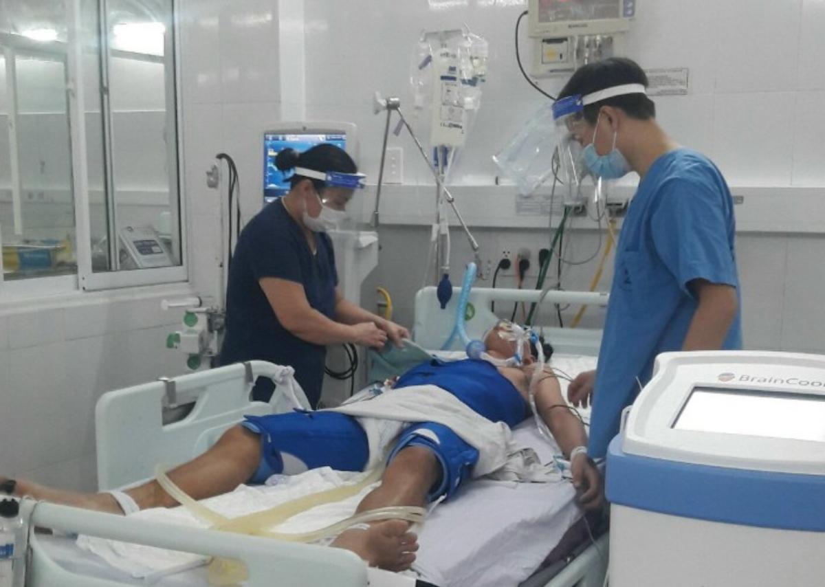 Ba ngày ngủ đông giữa mùa hè đã cứu sông tương lai thanh niên 19 tuổi. Ảnh: Bệnh viện cung cấp.