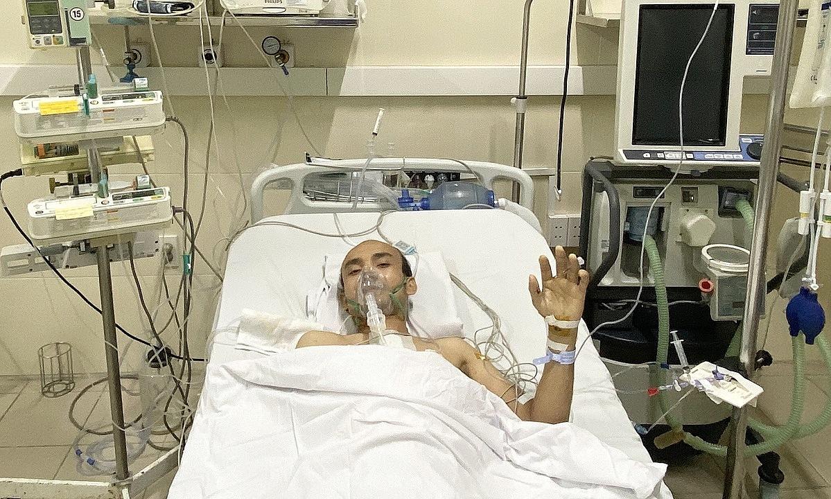 Bệnh nhân 33 tuổi hồi phục tốt sau ghép tim. Ảnh: Bệnh viện cung cấp.