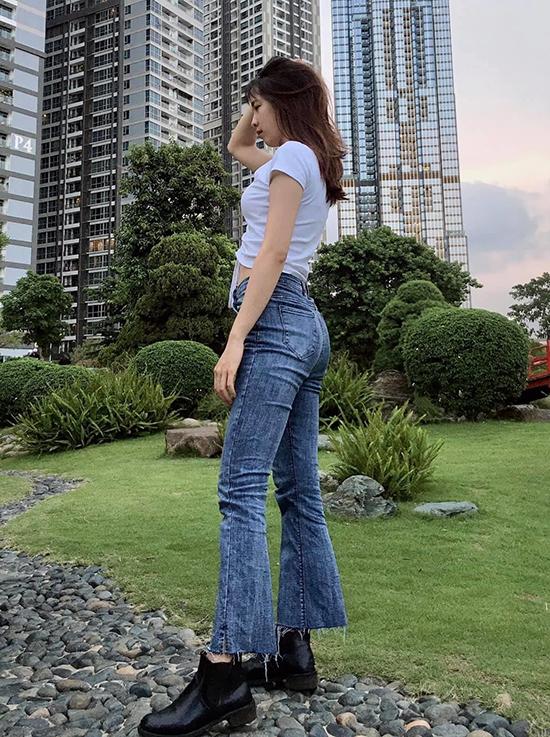 Nhìn Thuý Quỳnh lúc này, không ai nghĩ cô từng nặng 38kg, đi đâu cũng bị mọi người xì xào bàn tán về ngoại hình gầy gò, ốm yếu. Ảnh: Nhân vật cung cấp