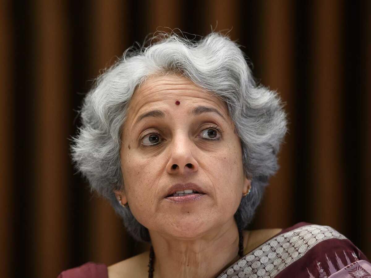 Bà Soumya Swaminathan, trưởng nhóm khoa học của WHO. Ảnh: AFP