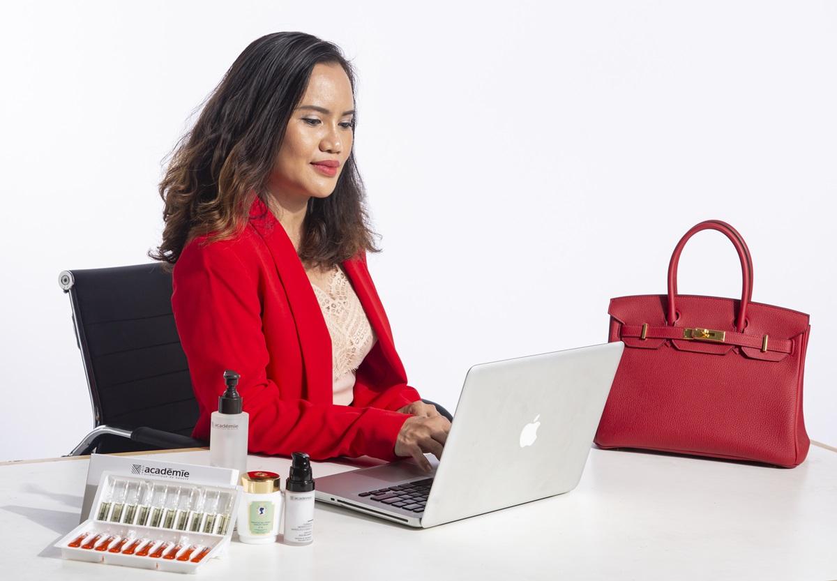 Bà Jolie Rose (Nguyễn Thị Mai Hồng) – CEO Académie Vietnam.