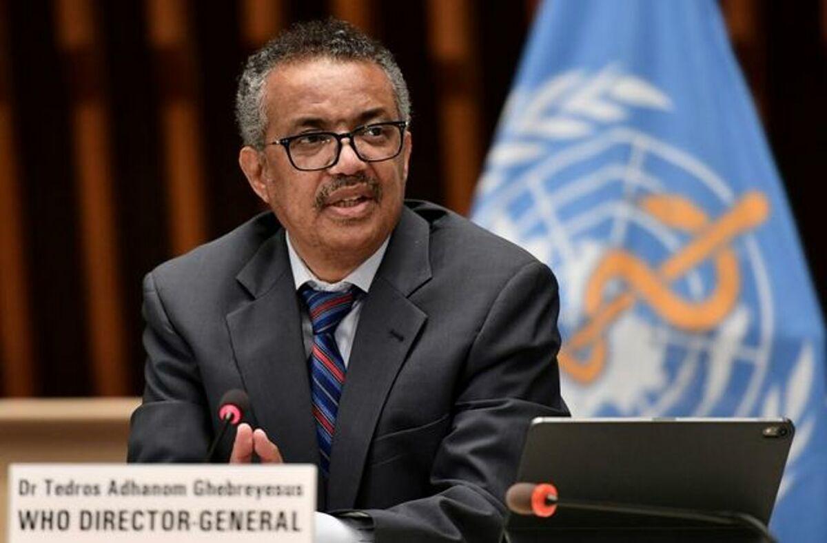 Tổng Giám đốc Tổ chức Y tế Thế giới (WHO) Tedros Adhanom Ghebreyesus tham dự cuộc họp báo do Hiệp hội Phóng viên Liên hợp quốc tại Geneva (ACANU) tổ chức trong bối cảnh bùng phát Covid-19, tại trụ sở Geneva, Thụy Sĩ ngày 3/7. Ảnh Reuters