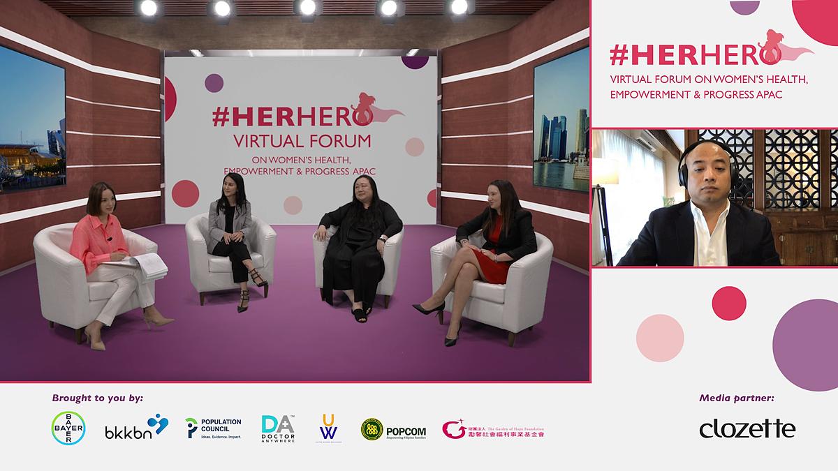 Hội thảo trực tuyến #HerHero cùng kêu gọi phụ nữ ưu tiên chăm sóc sức khỏe bản thân, sức khỏe sinh sản và kế hoạch hóa gia đình, đặc biệt là trong đại dịch COVID-19
