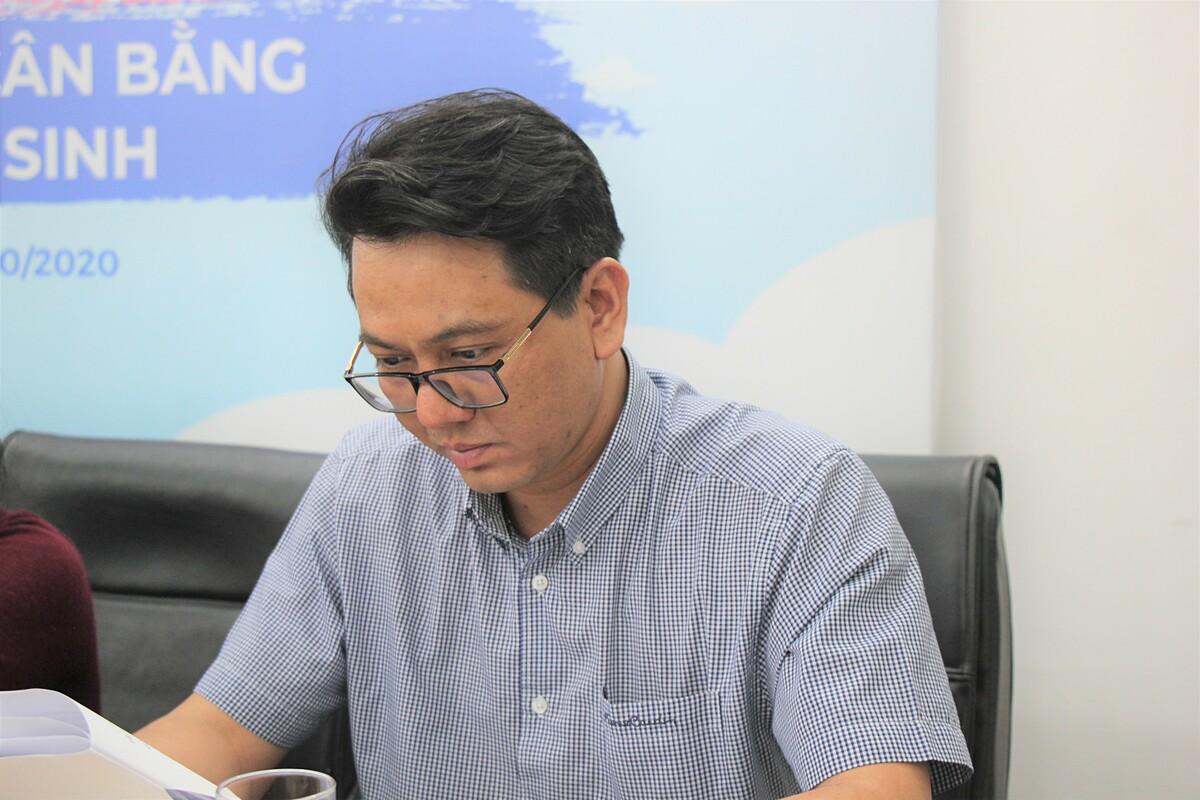 Ông Vũ Hoàng cho biết Việt Nam đang có nhiều chính sách để giải quyết vấn đề mất cân bằng giới tính sau sinh.