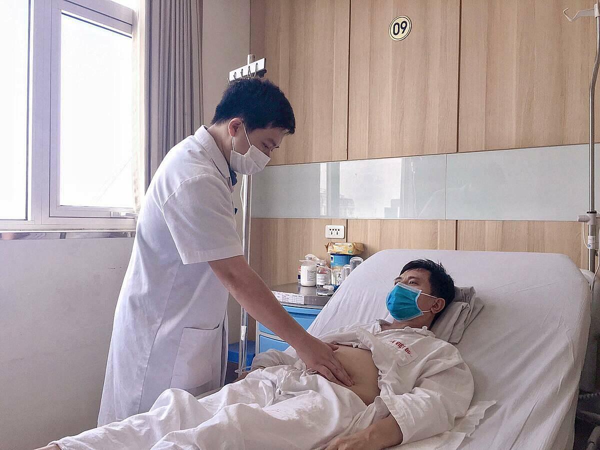 Bệnh nhân ổn định sau 10 ngày ghép thận. Ảnh: Bệnh viện cung cấp.