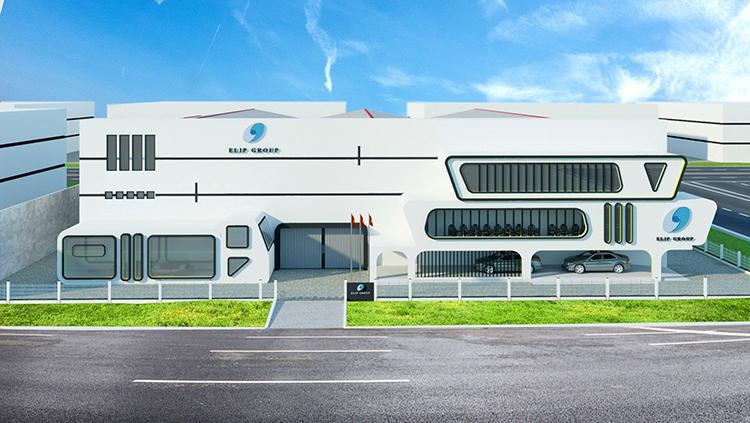 Nhà máy Elip Long An.