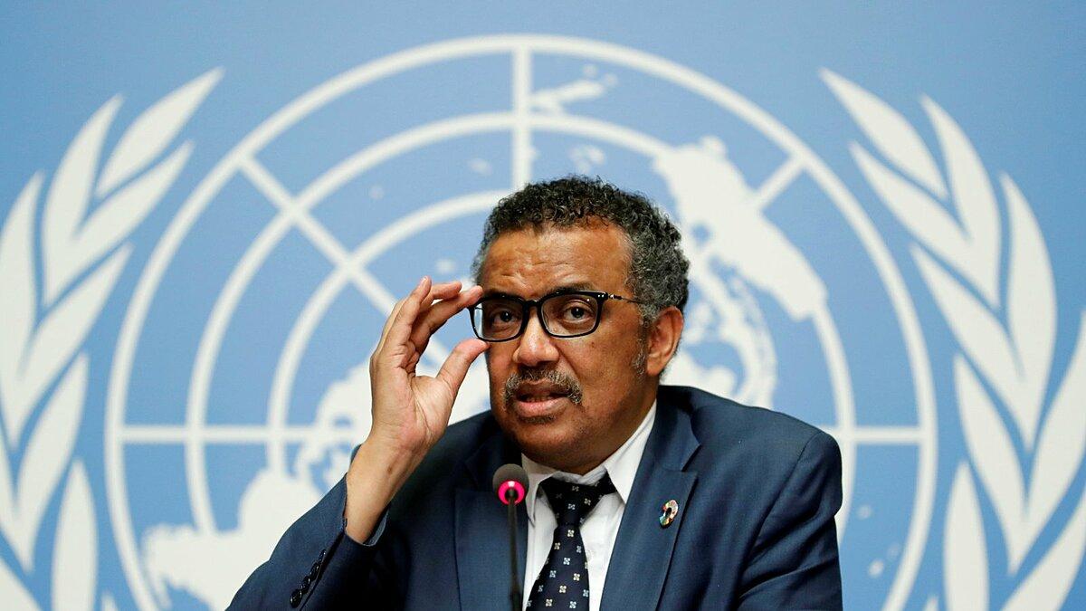 Tổng giám đốc WHO Tedros Adhanom Ghebreyesus trong buổi họp tại Thuỵ Sĩ, tháng 5/2020. Ảnh: Reuters