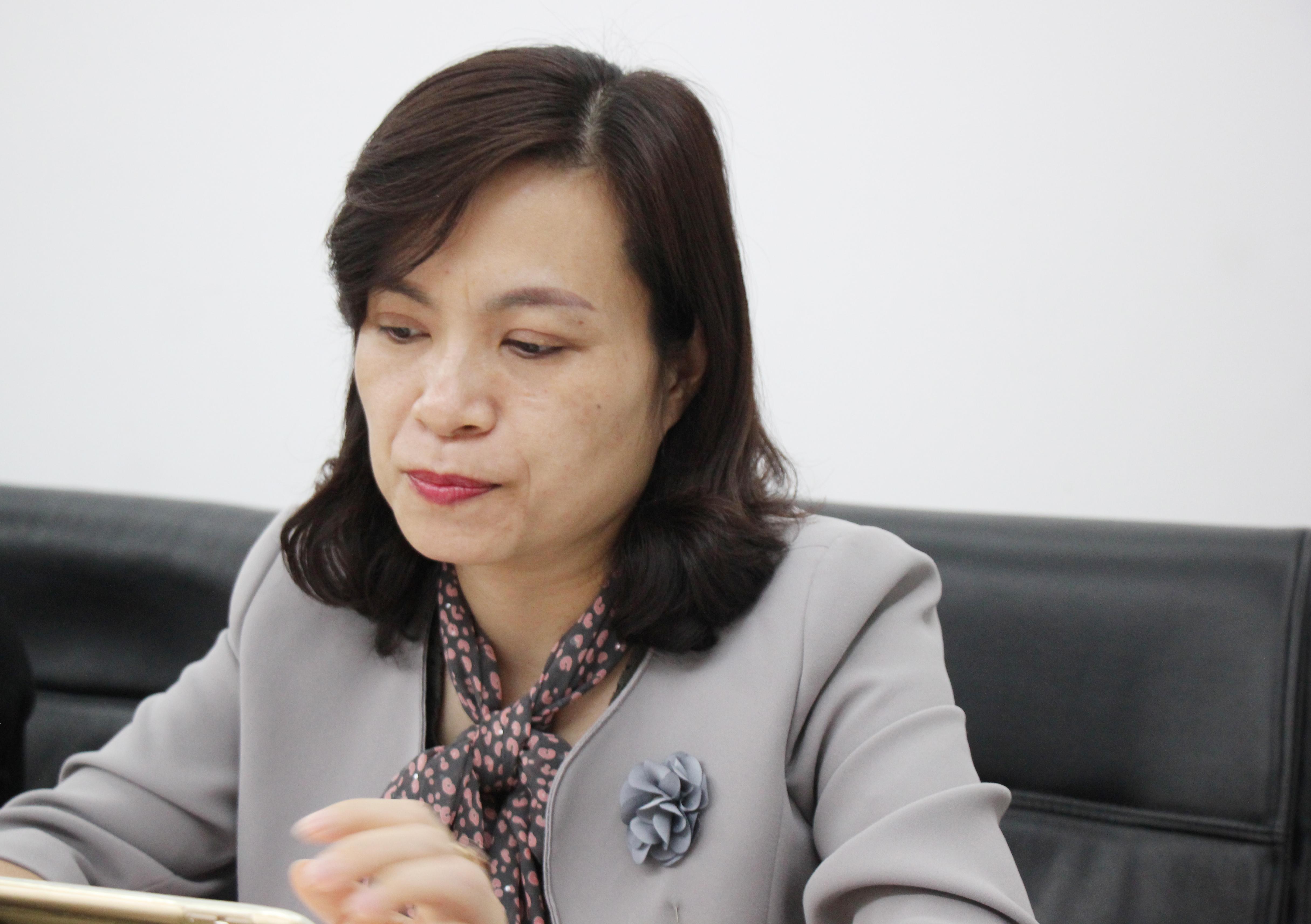 Bác sĩ chuyên khoa II Ngô Thị Thu Hương - Giám đốc Trung tâm tim mạch - Bệnh viện tỉnh Phú Thọ giải đáp những thắc mắc của cho độc giả về mỡ máu cao.