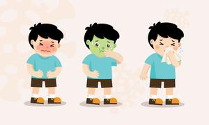 Các bệnh gây nhiễm trùng hô hấp ở trẻ lúc giao mùa