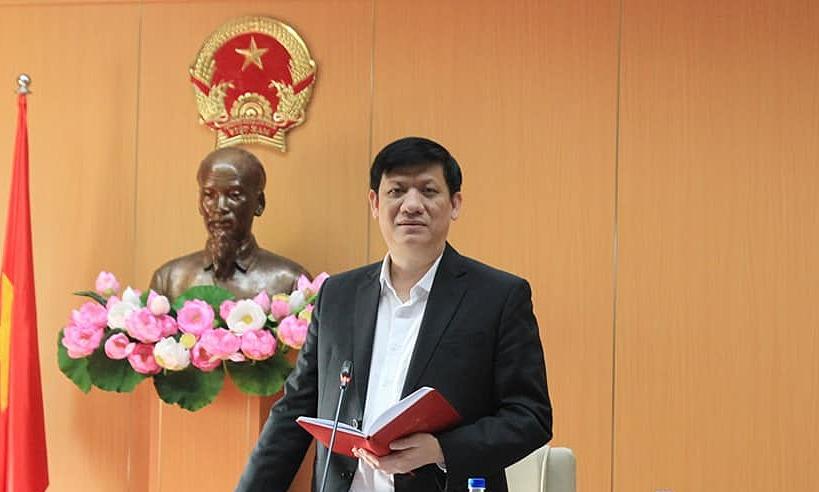Bộ trưởng Y tế Nguyễn Thanh Long. Ảnh: N. Nhiên.