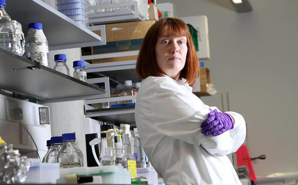 Giáo sư Sarah Gilbert, Đại học Oxford. Ảnh: Telegraph