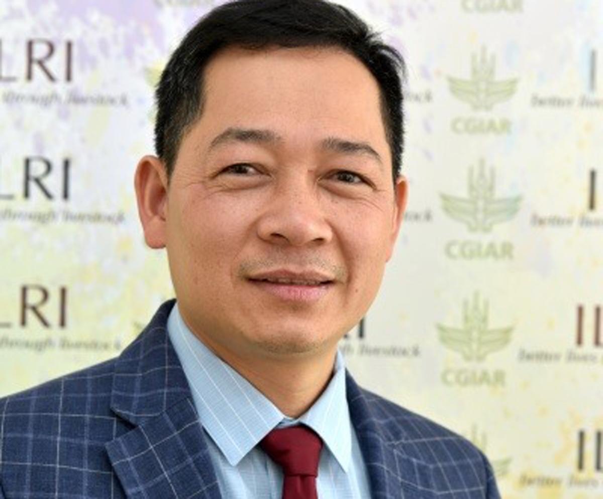 Ông Nguyễn Việt Hùng. Ảnh: Viện Nghiên cứu Chăn nuôi Quốc tế (ILRI).