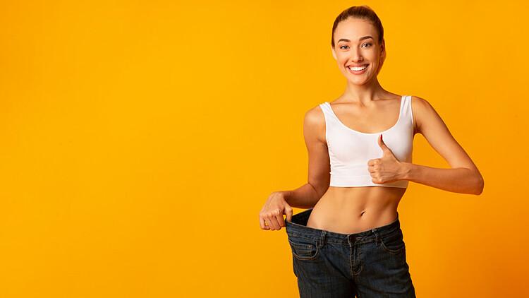 Ăn uống lành mạnh giúp giảm cân. Ảnh: Timenows