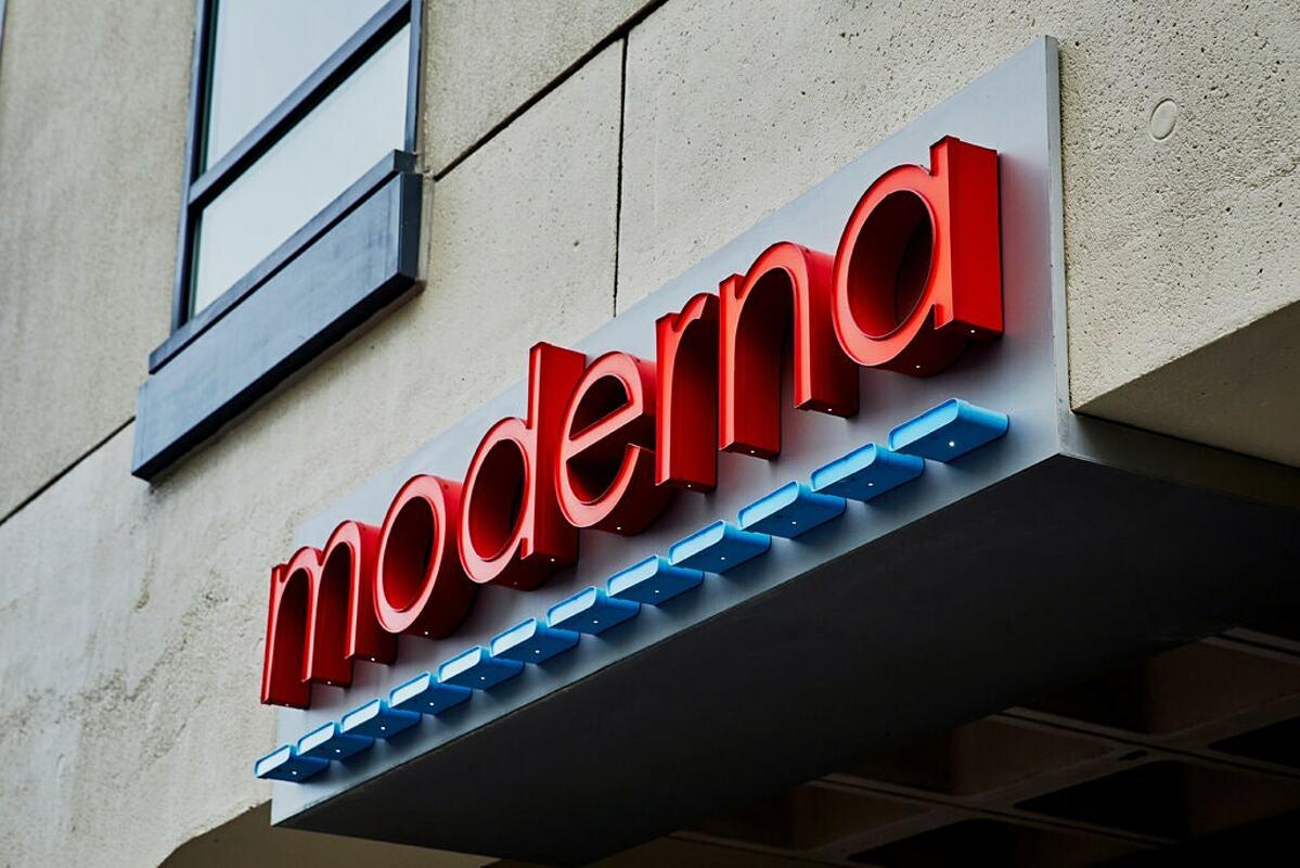 Trụ sở của hãng dược Moderna tại Mỹ. Ảnh: NY Times