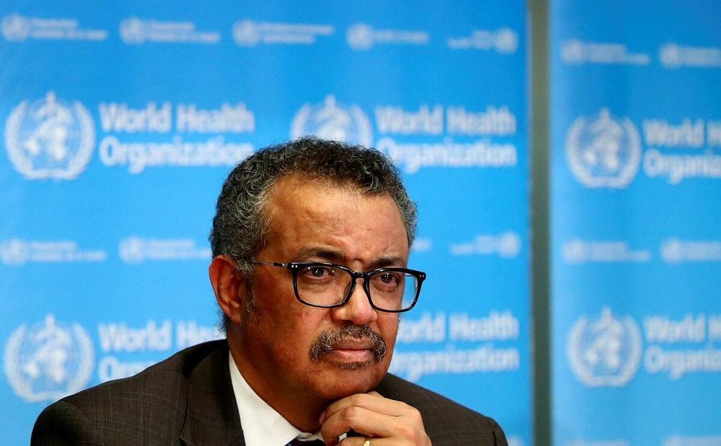 Tổng giám đốc WHO Tedros Adhanom Ghebreyesus trong cuộc họp tại Geneva, Thụy Sĩ, tháng 2/2020. Ảnh: Reuters