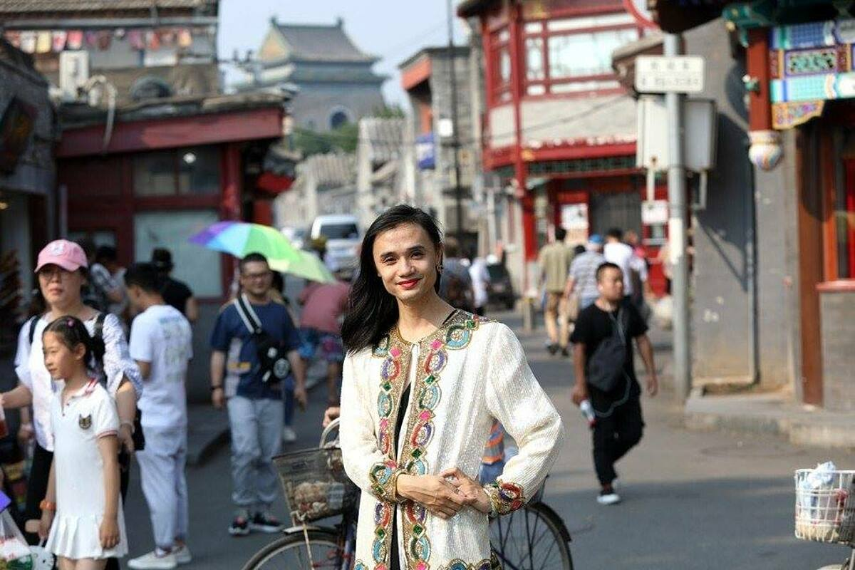 Chan Xiaomi, transgender rights advocate in China.  Photo: SCMP