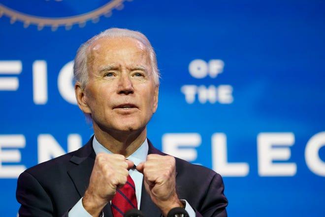Tổng thống đắc cử Joe Biden. Ảnh: AP.