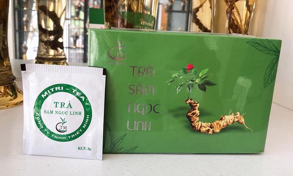 Công ty Triết Minh ra mắt sản phẩm Trà sâm Ngọc Linh.
