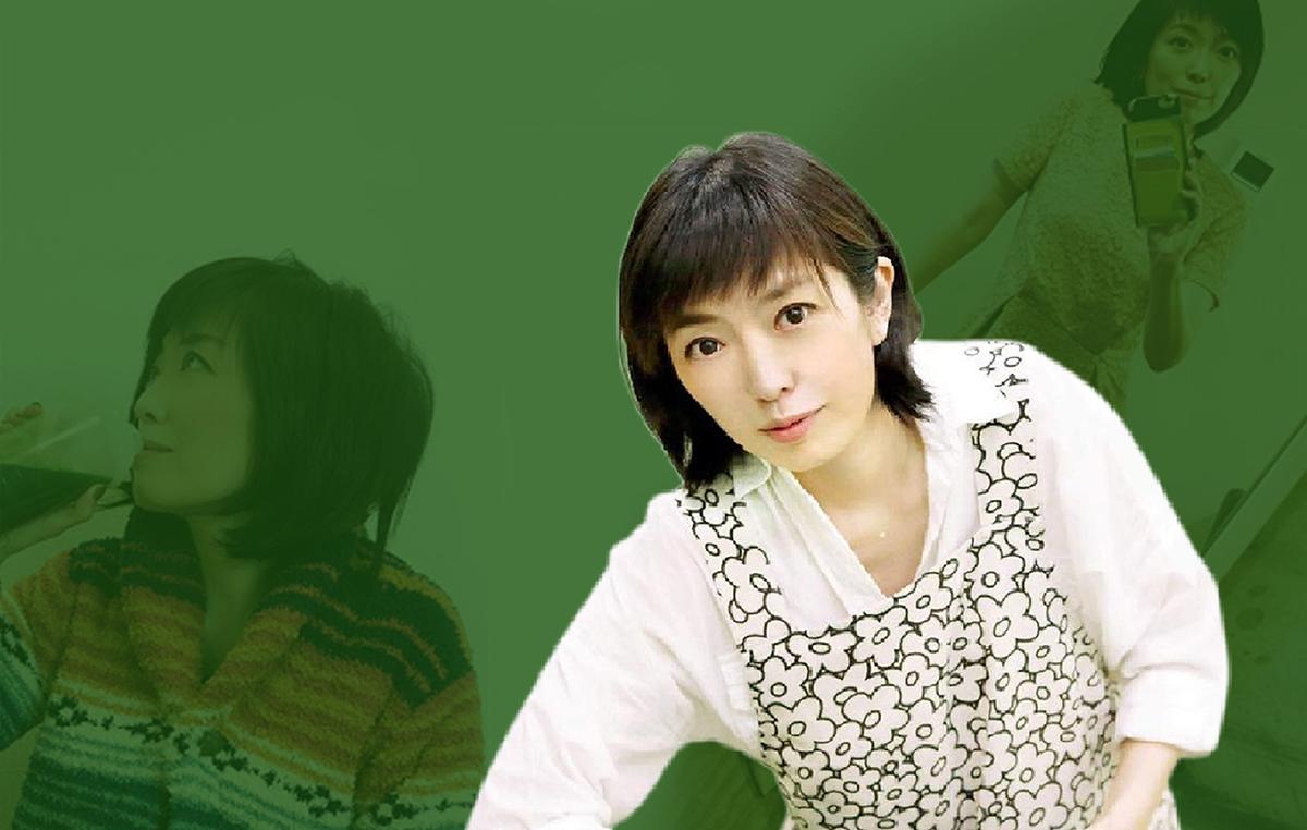 Chị Shizuka Sekiguchi thường xuyên dùng bột cân tây giữ vóc dáng thon gọn, thanh lọc cơ thể.