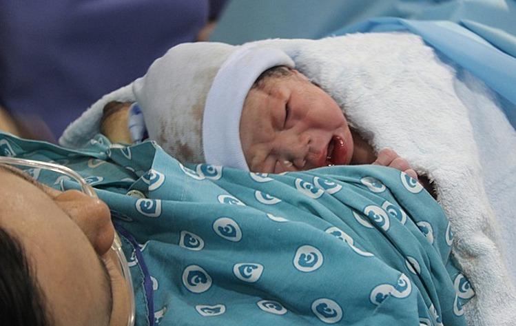 Trẻ chào đời tại Bệnh viện Từ Dũ. Ảnh: Lê Phương.