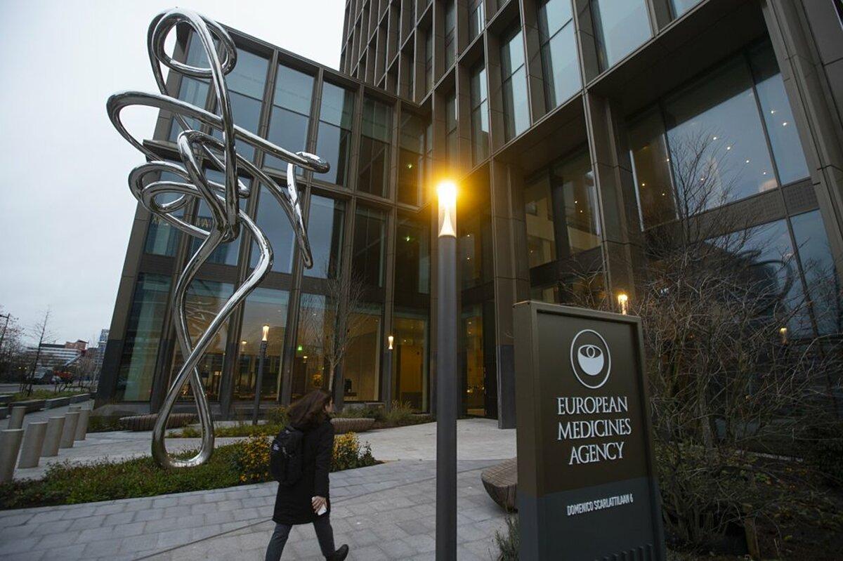 Trụ sở của Cơ quan Quản lý Dược phẩm châu Âu tại Amsterdam, Hà Lan. Ảnh: Reuters
