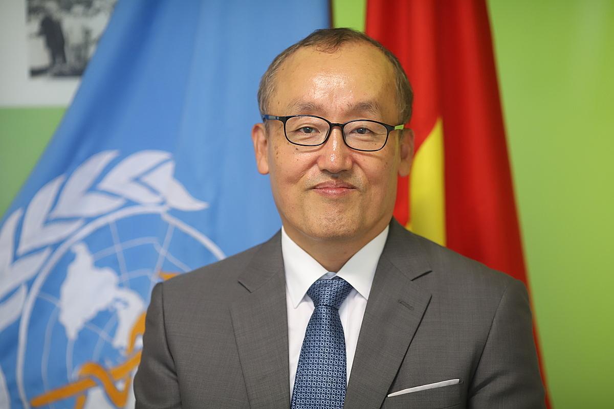 Tiến sĩ Kidong Park, Trưởng đại diện Tổ chức Y tế Thế giới tại Việt Nam. Ảnh: WHO.