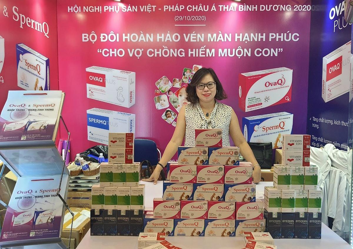 TPBVSK OvaQ1 & TPBVSK SpermQ đồng hành cùng hội nghị phụ sản Việt Pháp Châu Á Thái Bình Dương 2020