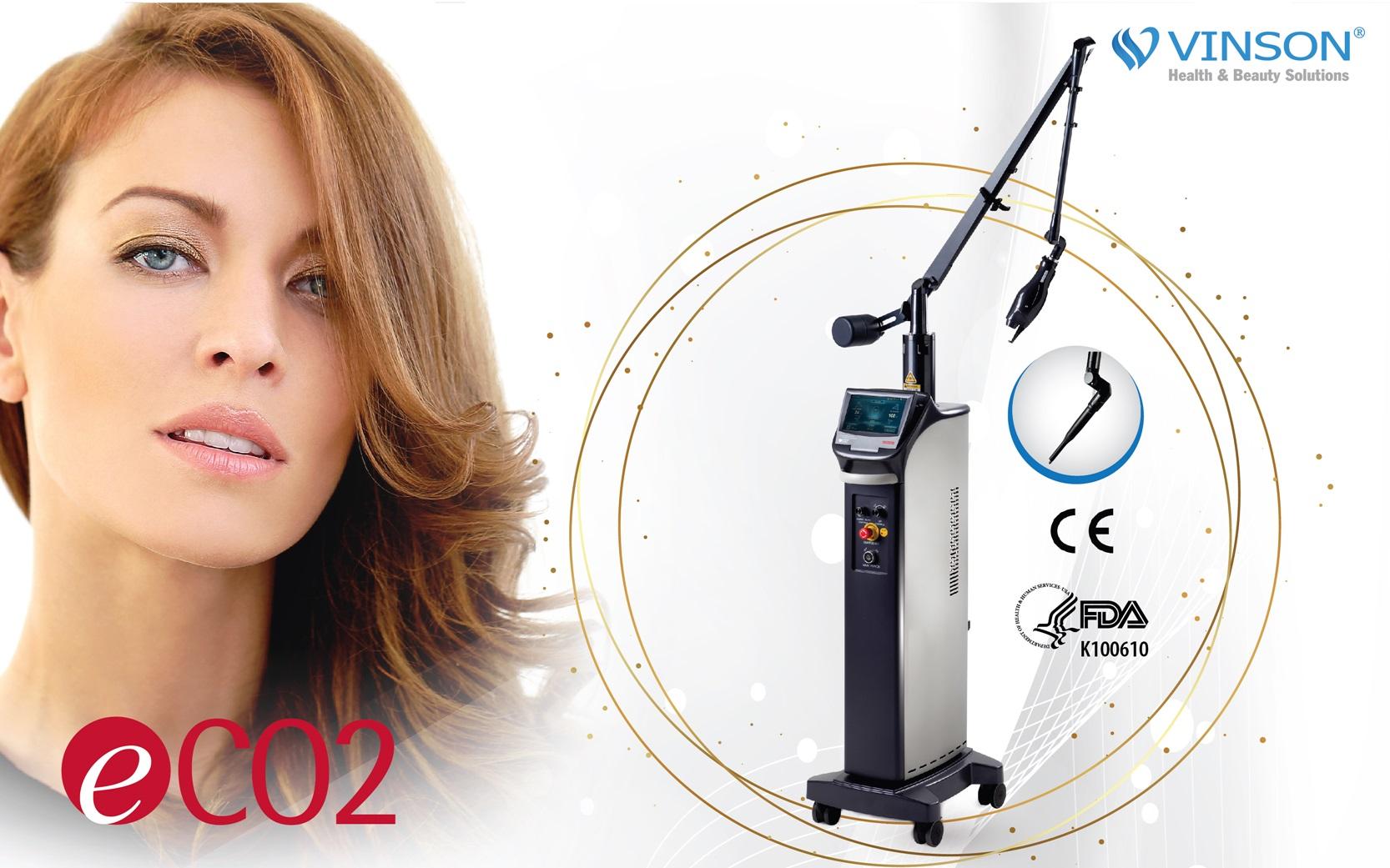 Trị sẹo bằng công nghệ laser eCO2.