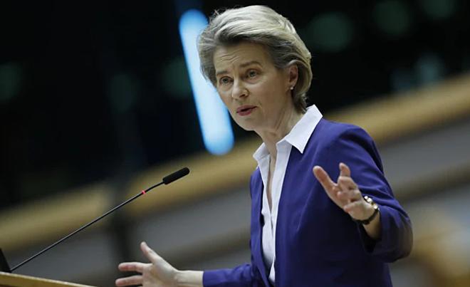 Ursula von der Leyen, chủ tịch Ủy ban Châu Âu. Ảnh: AFP