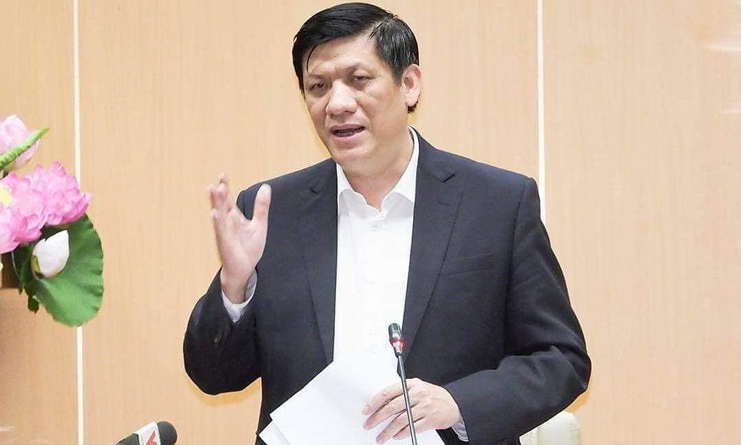 Bộ trưởng Y tế Nguyênc Thanh Long. Ảnh: Tuấn Anh.
