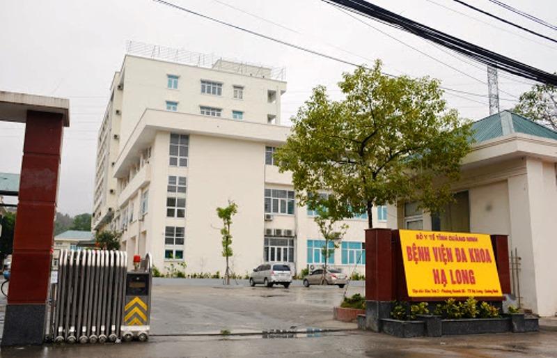 Bệnh viện Đa khoa Hạ Long được trưng dụng làm Bệnh viện số 3. Ảnh: Bình Minh