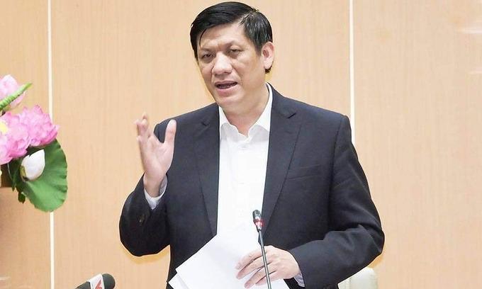 Bộ trưởng Y tế Nguyễn Thanh Long. Ảnh:Tuấn Anh.