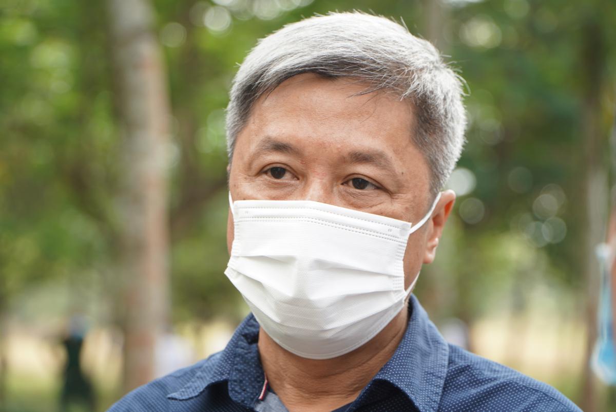 Thứ trưởng Bộ Y tế Nguyễn Trường Sơn. Ảnh: Thư Anh.