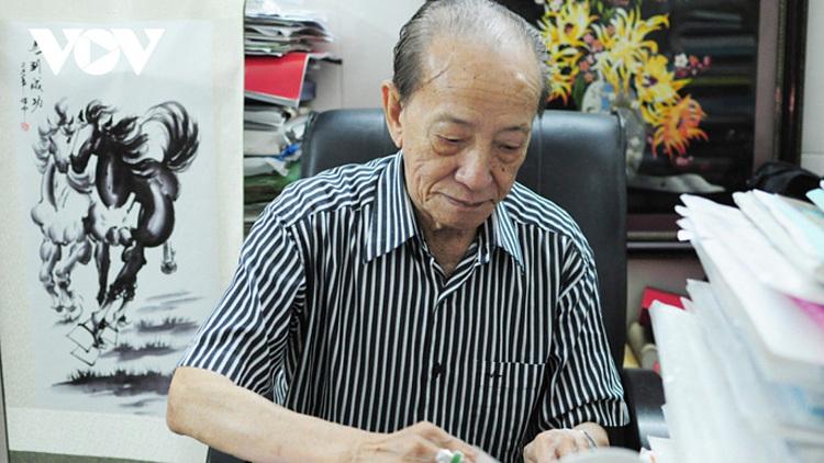 Giáo sư Nguyễn Tài Thu qua đời ngày 14/2/2021, để lại niềm tiếc thương cho nhiều người. Ảnh: VOV