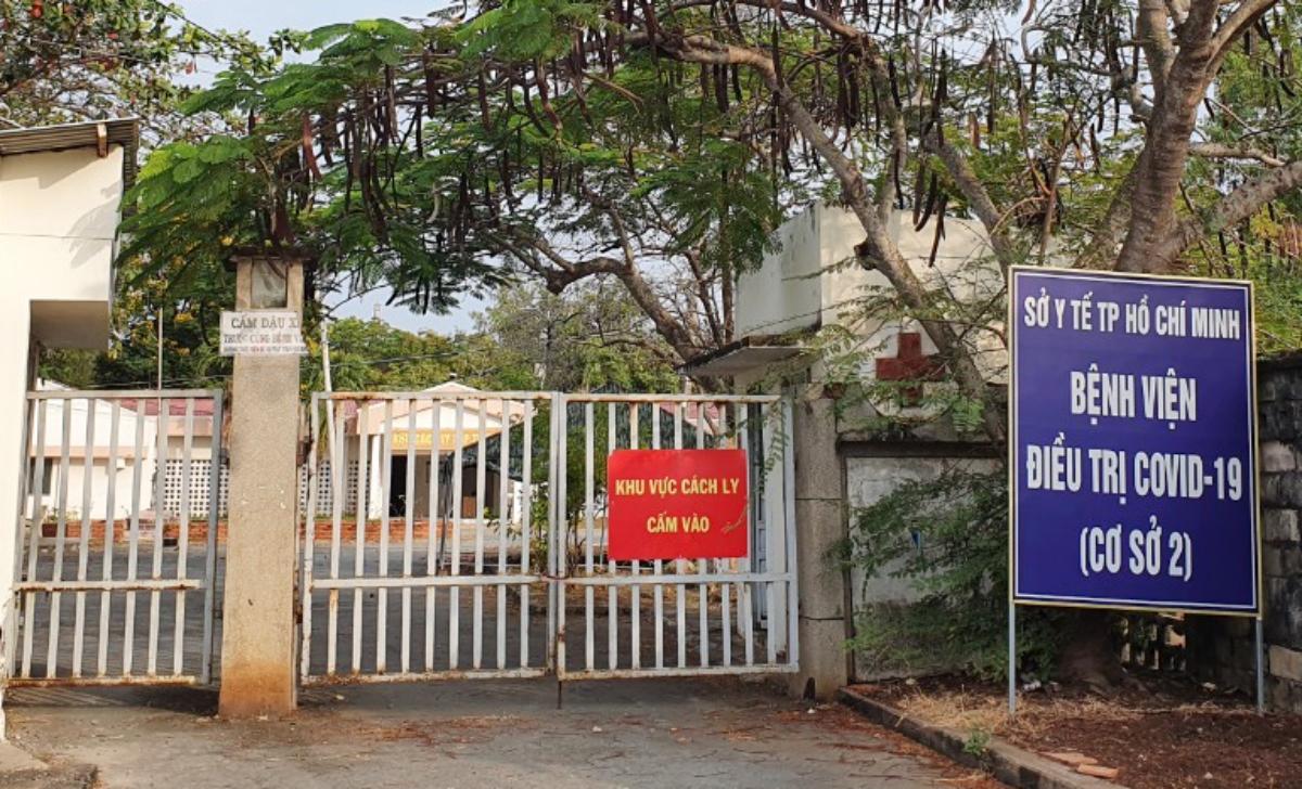 Bệnh viện điều trị Covid-19 Cần Giờ, cơ sở 2 là một trong 52 khu cách ly tập trung phòng chống Covid-19 tại TP HCM. Ảnh: Thư Anh.