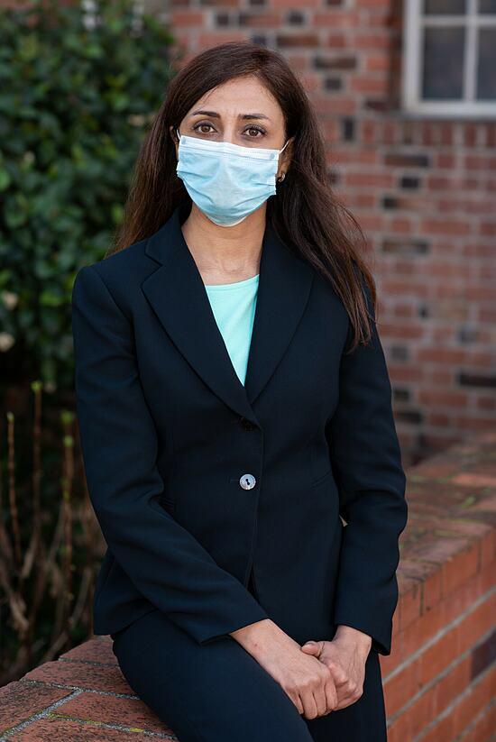 Doctor .  Saideh Farahmandnia.  Photo: NY Times