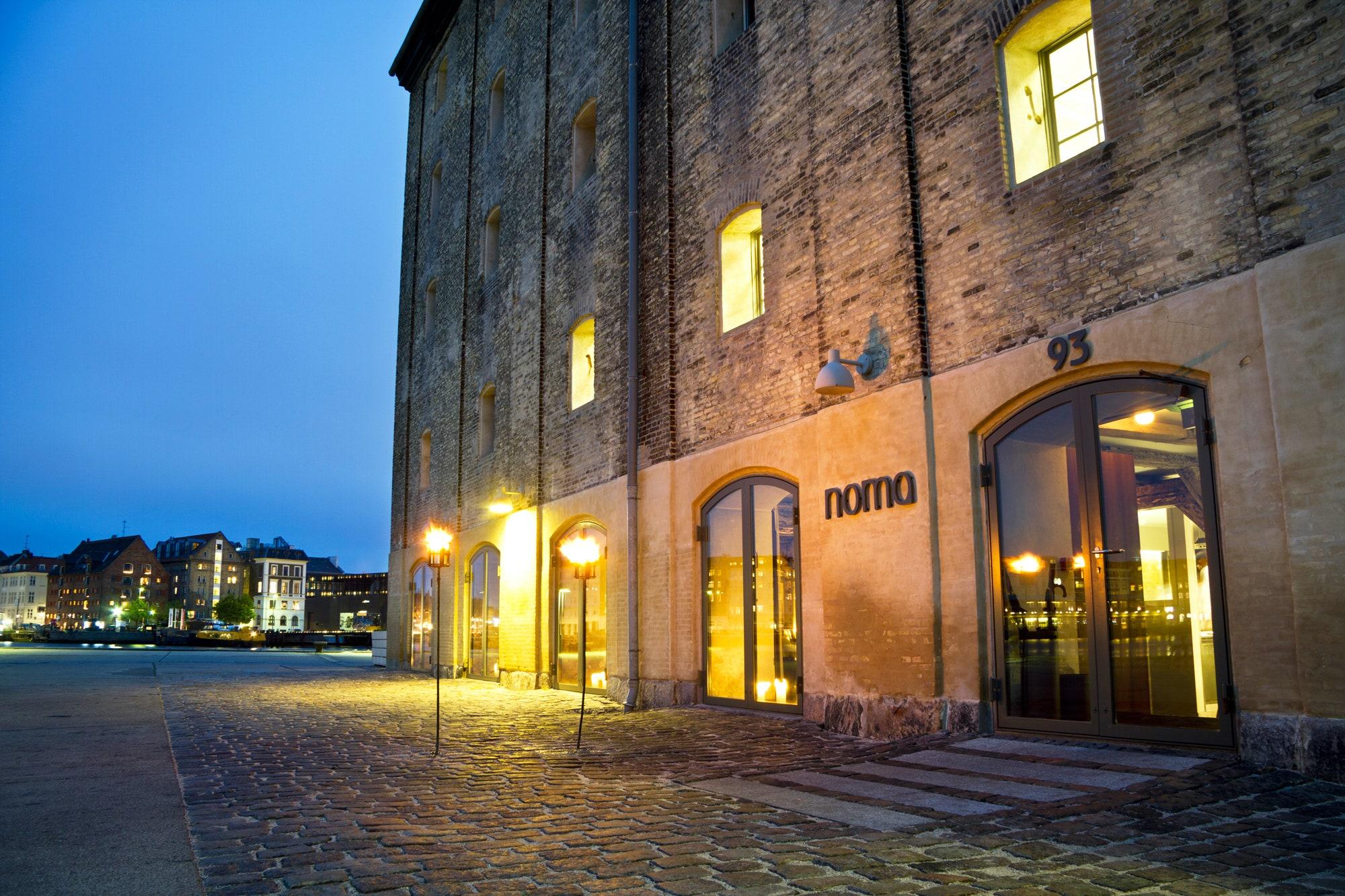 Nhà hàng Noma tại Copenhagen, Đan Mạch. Ảnh: Vogue.