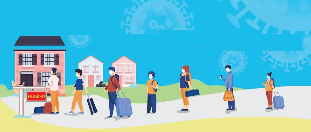 Ngoài hành lý cá nhân thì việc chuẩn bị tinh thần khá quan trọng giúp người đi cách ly có trải nghiệm ý nghĩa. Đồ họa: HCDC