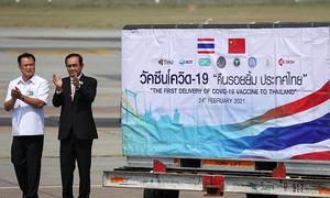 Thái Lan nhận 200.000 liều vaccine Covid-19 đầu tiên