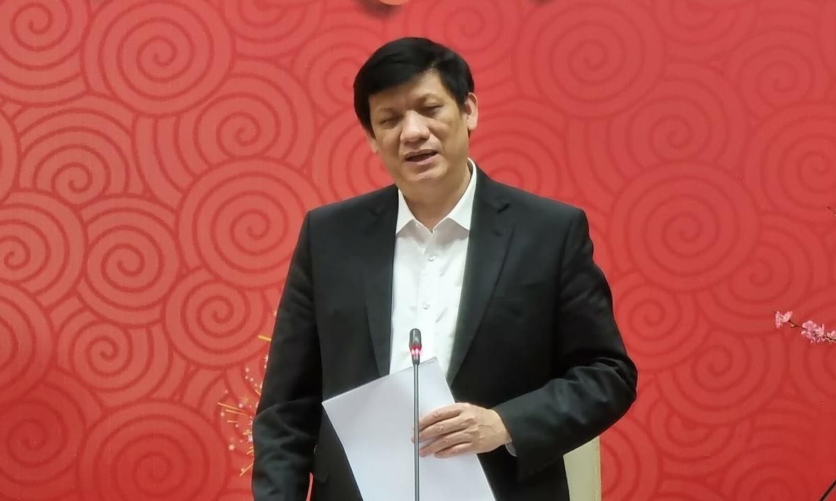 Bộ trưởng Y tế Nguyễn Thanh Long. Ảnh: Bộ Y tế.