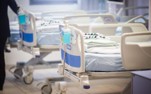 Phòng bệnh cho người mắc Covid-19 tại Bệnh viện Assuta, Ashdod, Israel. Ảnh: Times of Israel.