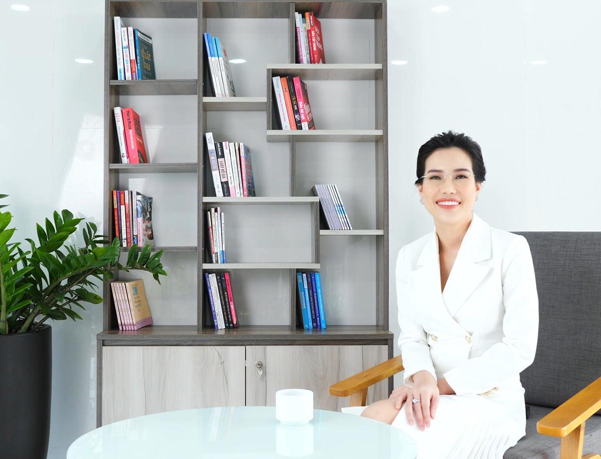 Bà Lê Thái Ngọc - Tổng giám đốc của Hệ thống Thẩm mỹ viện Ngọc Dung.