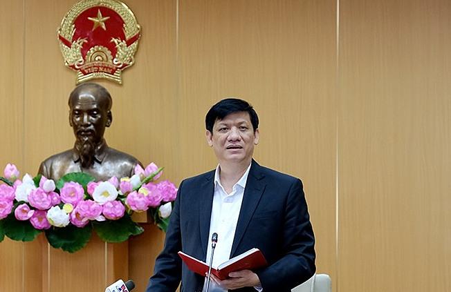 Bộ trưởng Y tế Nguyễn Thanh Long. Ảnh: Trần Minh.