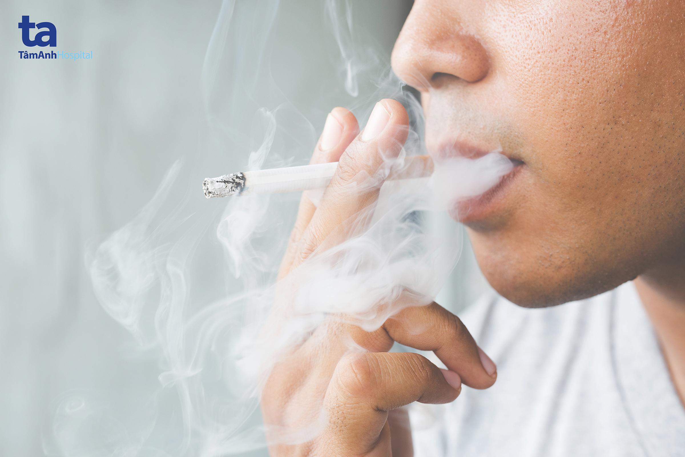 Chỉ với vài điếu thuốc lá mỗi ngày bạn vẫn có nguy cơ mắc các bệnh lý tim mạch.