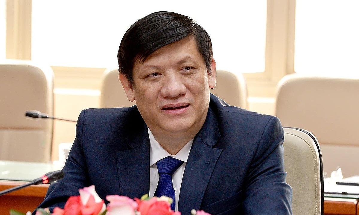 Bộ trưởng Nguyễn Thanh Long làm việc với các đại diện ngoại giao Liên minh Châu Âu (EU), Mỹ, Nhật Bản và các tổ chức quốc tế, ngày 1/4. Ảnh: Chí Cường.