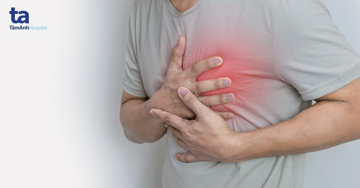 Hẹp van hai có thể dẫn đến suy tim.