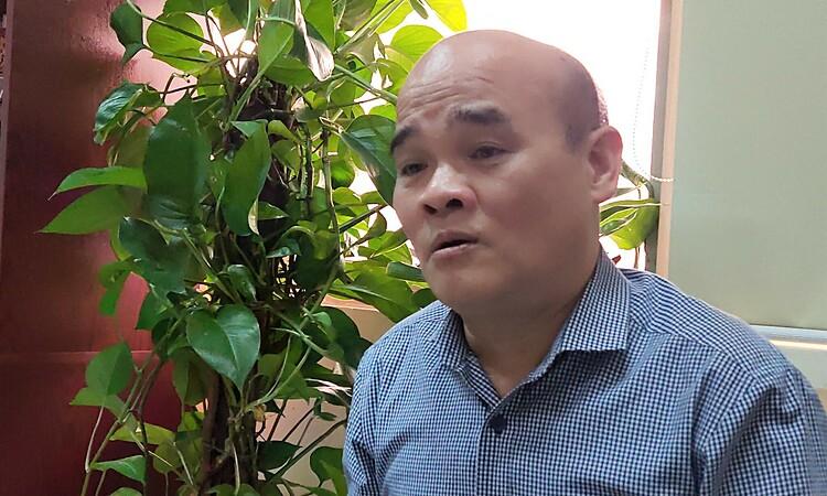 Tiến sĩ Nguyễn Huy Quang, nguyên Vụ trưởng Vụ Pháp chế, Bộ Y tế. Ảnh: Minh Thúy.